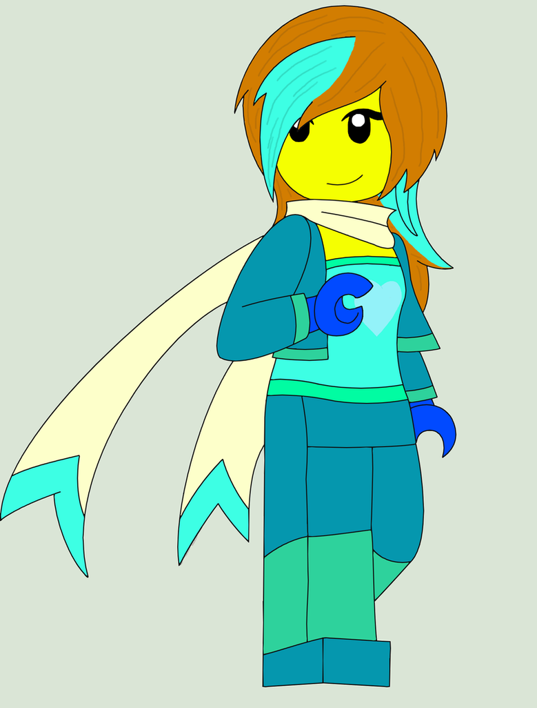 Karen the Crystal Ninja by agakikama