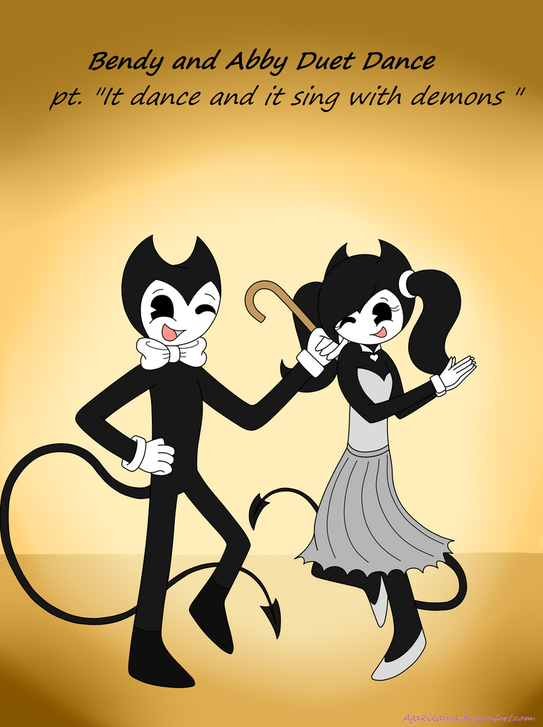 Bendy and Abby Duet Dance by agakikama