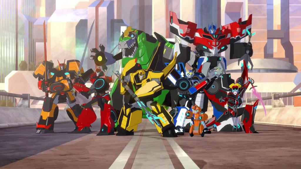 Transformers Robots In Disguise full team by agakikama