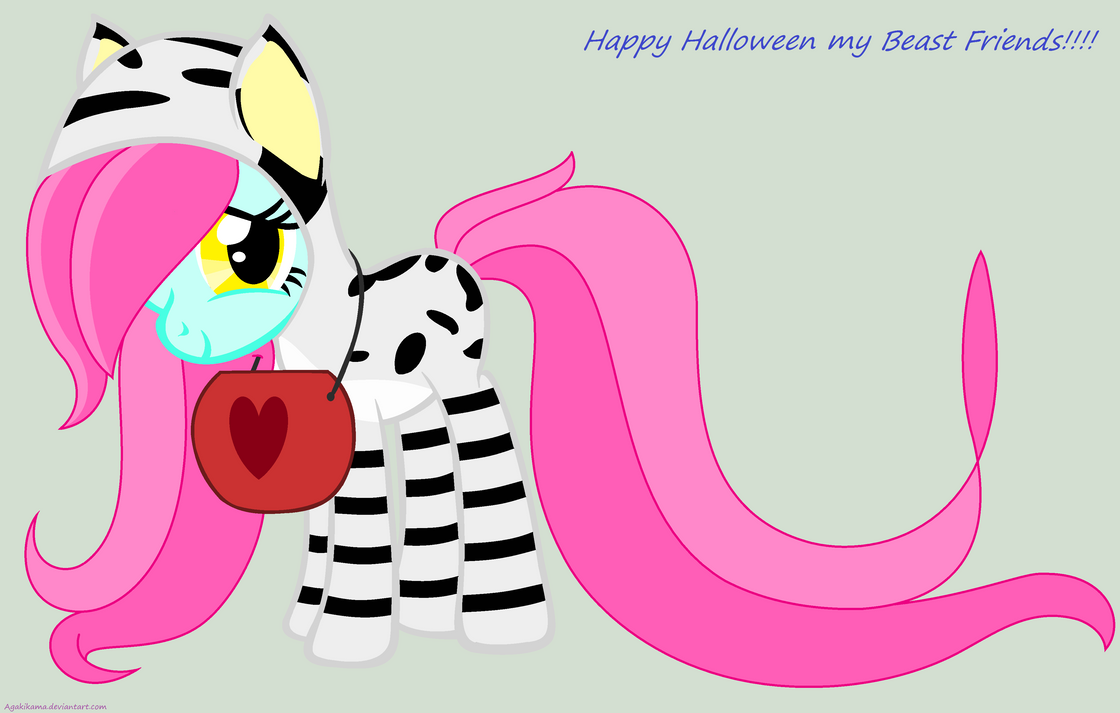 Hallowen costime Flora's, candy please... by agakikama