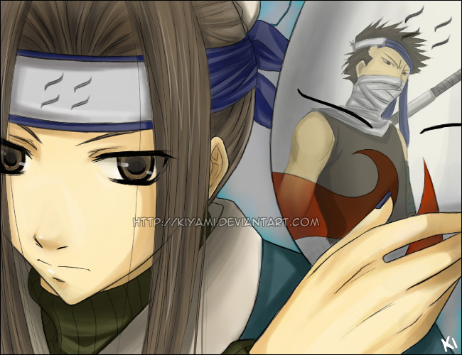 Haku and Zabuza by KiYami  Zabuza And Haku Love