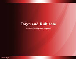 Raymond Rubicand PPT title pg by gcGraphics