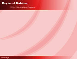 Raymond Rubicand PPT bg by gcGraphics