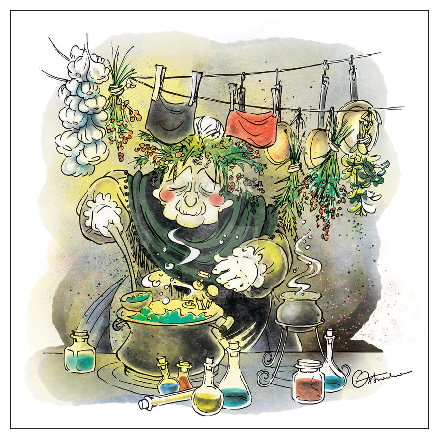 Witch by koloranek
