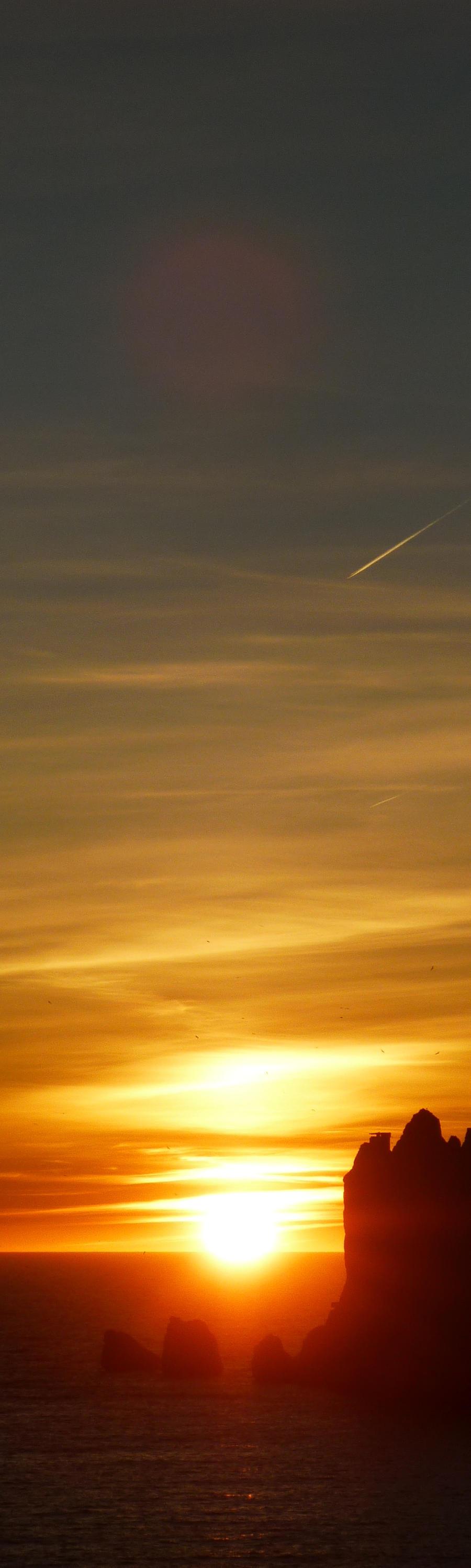 Sunset Bookmark by Soso-sama
