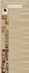 Paper Child Tutorial by Tatemyuu