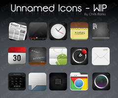Unnamed Icons WIP -Teaser. by chrisbanks2