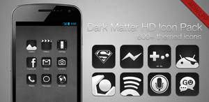 Dark Matter HD - ADW-LLP Icon pack