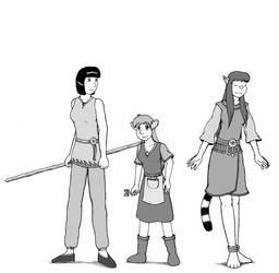 Characters 05 - Lo-Ren's friens