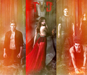 The Vampire Diaries TVD by Euphoria26