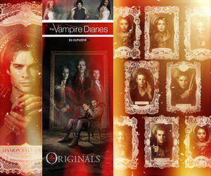 The Vampire Diaries The Originals by Euphoria26