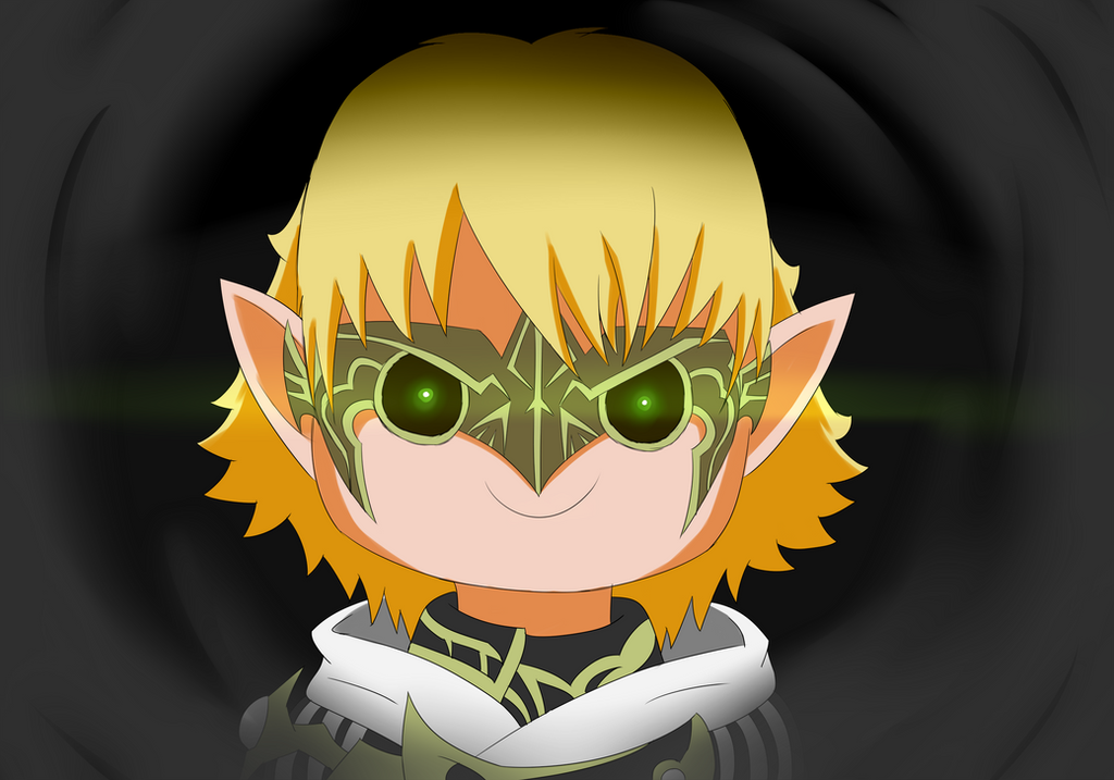 FFXIV - My Lalafell character by RittiFruity