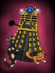 Daleks love cats