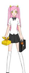 Yuki summer uniform by angels1732