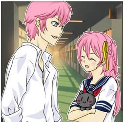 Yuki and Akihiro by angels1732