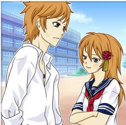 Mariko and Hideki by angels1732
