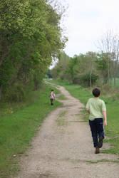 Lonely walk by jlpicard1701e