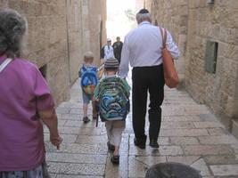 Children in Jerusalem by jlpicard1701e