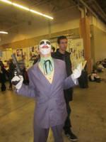 Joker at Paris Manga Expo 2012 by jlpicard1701e