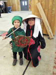 Lil' Link and mother Akatsuki by jlpicard1701e