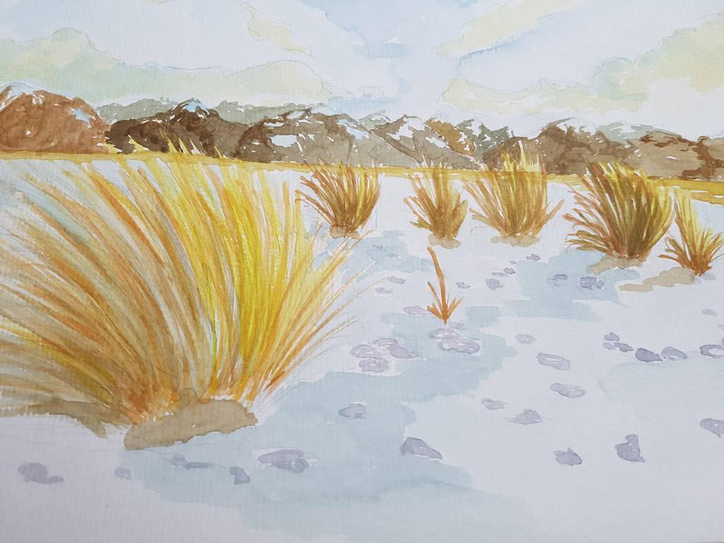 Desertic landscape by jlpicard1701e
