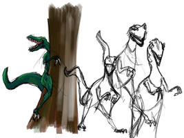 velociraptor by jlpicard1701e