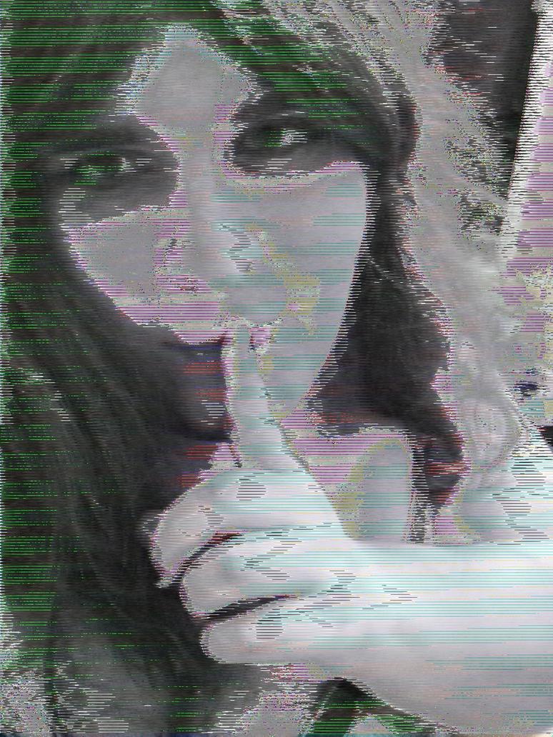Cute Glitch Girlfriend 1 by Piraga