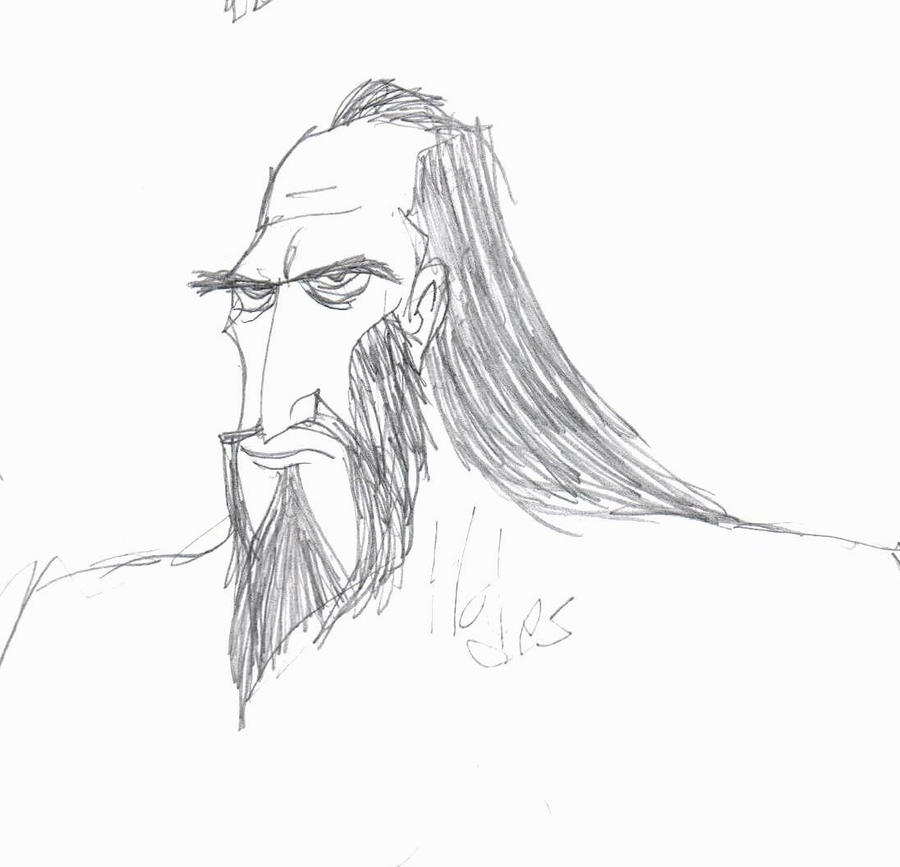 How to draw greek god hades