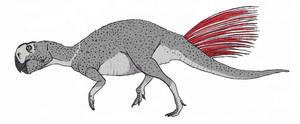 Psittacosaurus neimongoliensis by TheMorlock