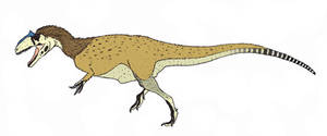 Allosaurus fragilis by TheMorlock