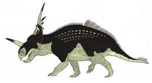Styracosaurus albertensis by TheMorlock
