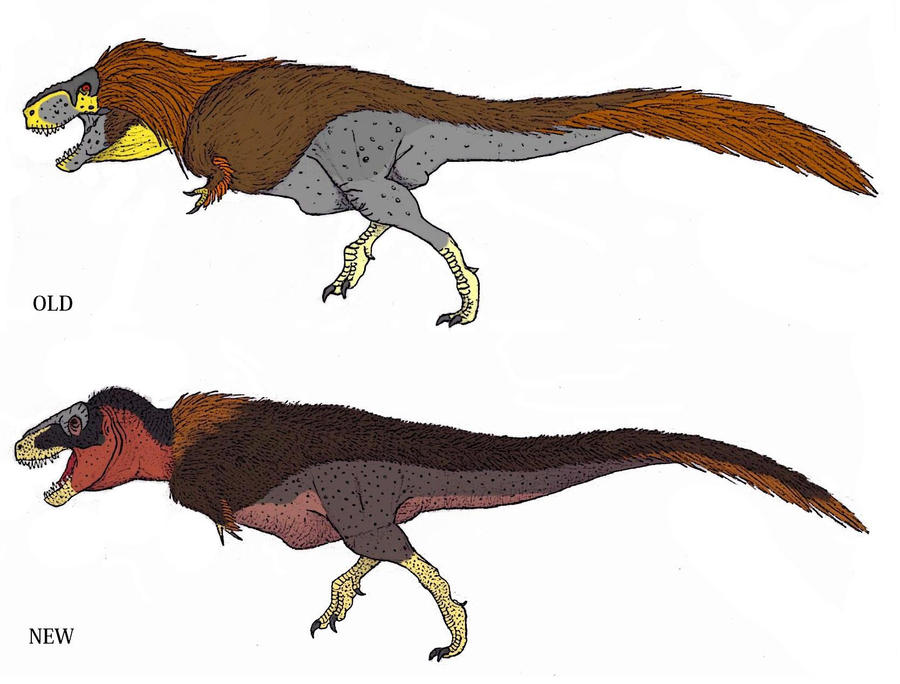 T. rex - Old VS New by TheMorlock