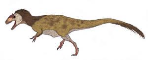Allosaurus fragilis by TheMorlock