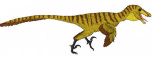 Jurassic Park Velociraptor by TheMorlock