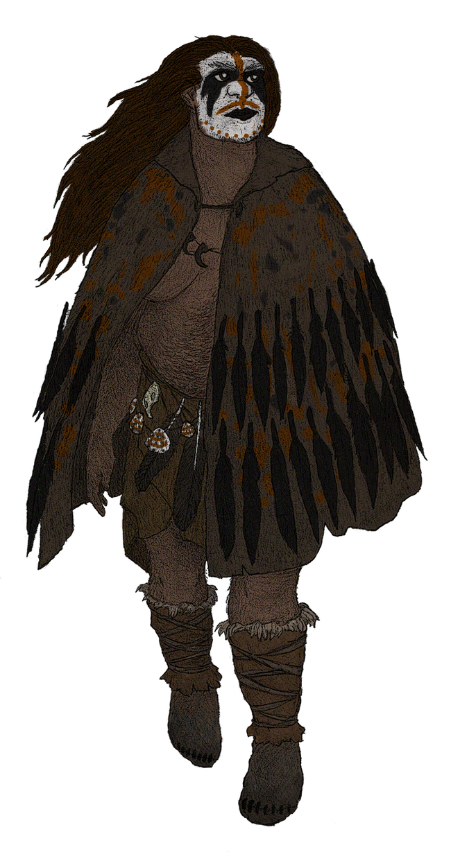 Homo neanderthalensis by TheMorlock