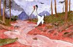 Cretaceous landscape
