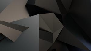 Triangle edged background by mezwik