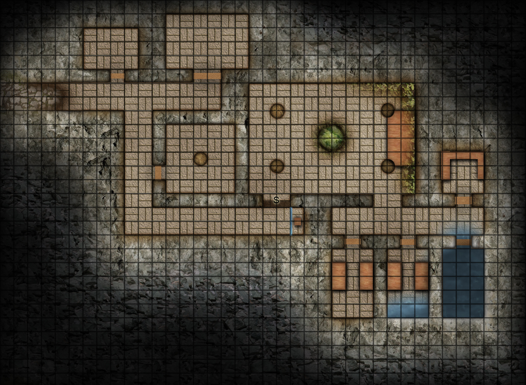 Map : Abandoned Temple 01 by SockyDM