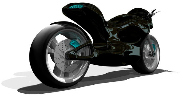Black Bike by FUFL187