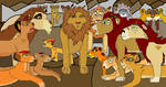 Simba and Nala's children part 1 by digimonfrontier77