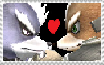 Fox x Wolf Stamp by digimonfrontier77