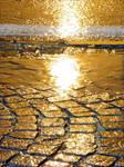 Golden rain by KLOD