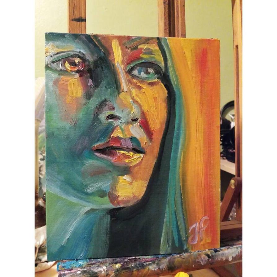 Portrait of Ella by JessKristen