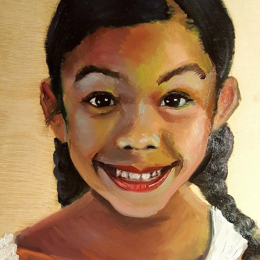 Smile! Portrait of Mimi by JessKristen
