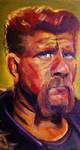 Portrait of Michael Cudlitz as Abraham Ford by JessKristen