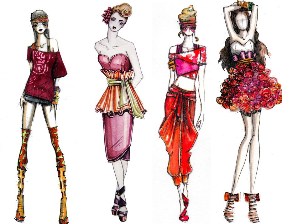 fashion designs 1 by KatnissEverdeen33 on DeviantArt