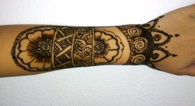 henna sleeve by maejae on deviantart. Black Bedroom Furniture Sets. Home Design Ideas