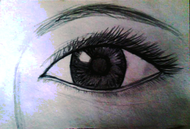 Eye Sketch by MaeJae