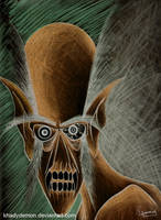 under my mask... by khadydemon
