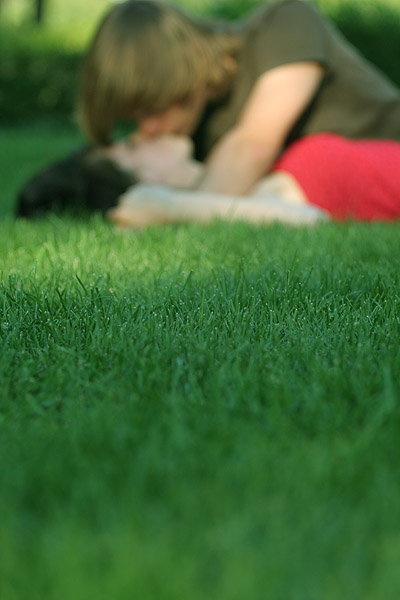 kisses in the grass by saragoetz